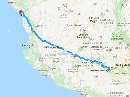 Karte Mexiko 3